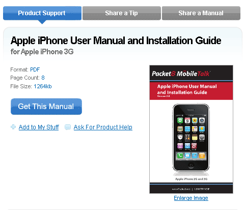 search for manuals