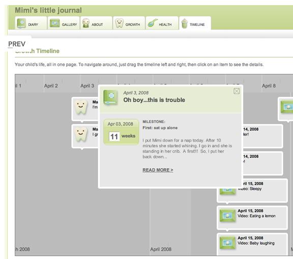 baby journal online