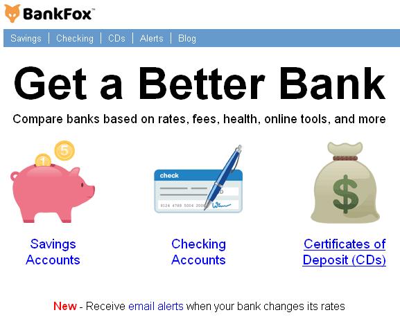 compare bank servicess