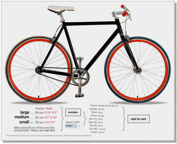 bikeshop   Urban Outfitters Bike Shop: Design Your Own Bike Online
