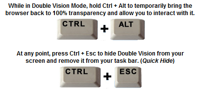 Sneak Around & Watch Videos at Work with Double Vision [Win] ctrlesc