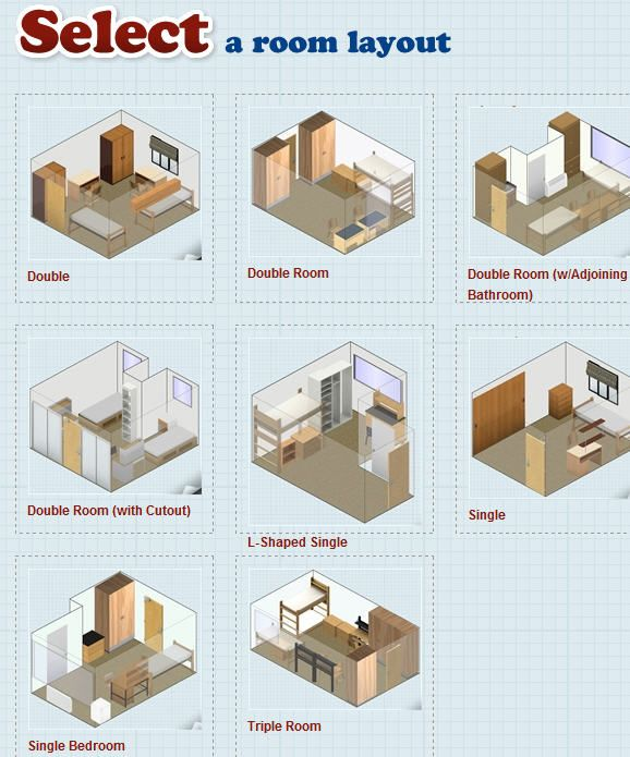 designdorm1   DesignYourDorm: Online 3 D Interior Design Tool For Students