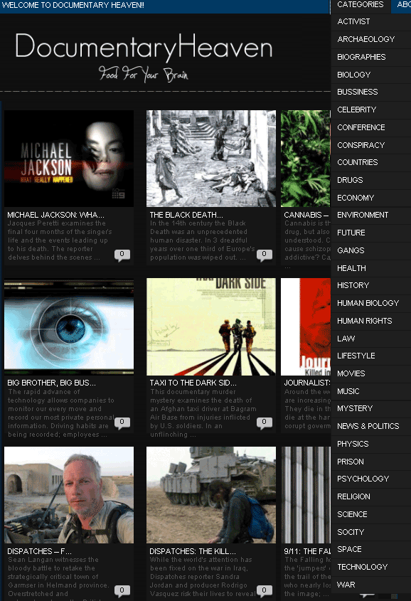 documentaryheaven   DocumentaryHeaven: Free Documentary Films