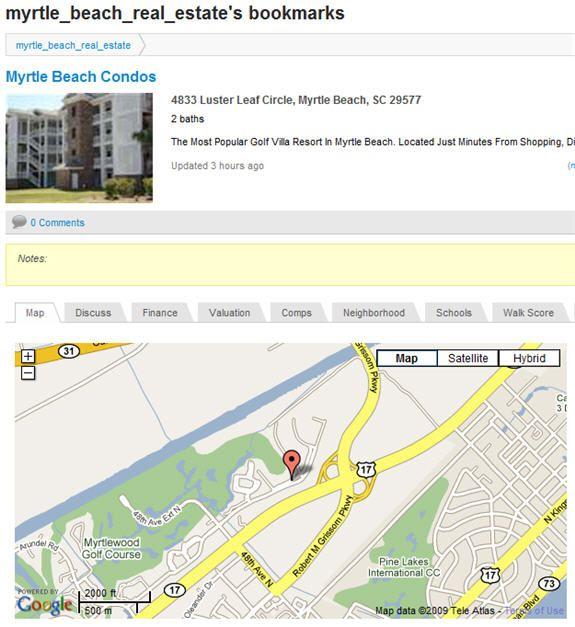 real estate bookmarkings