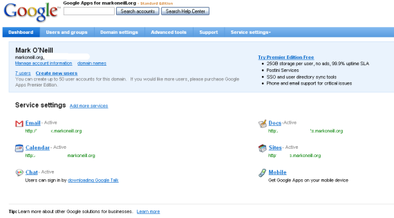 How to Easily Set Up Google Apps on Your Website googleapps3