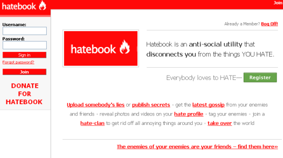 4 Rotten Websites That Everyone Should Hate hatebook