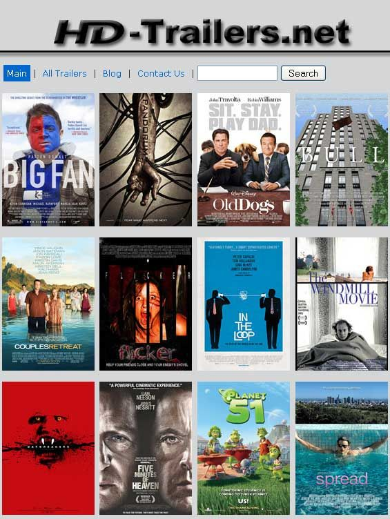 download free movie trailers