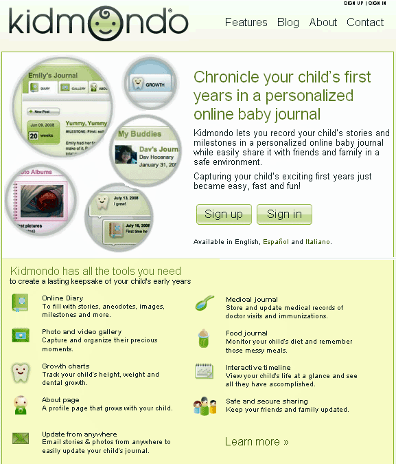 baby journal online