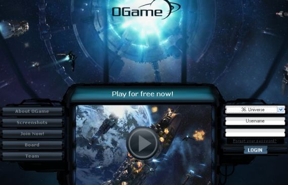 Ogame - A Free Online Strategy Game of Space War ogame1