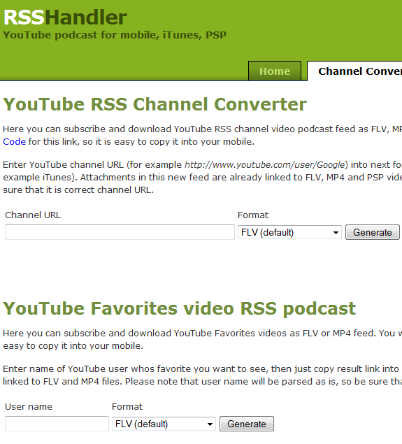 rss to podcast