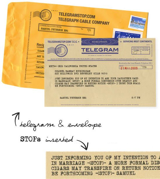 send telegrams online