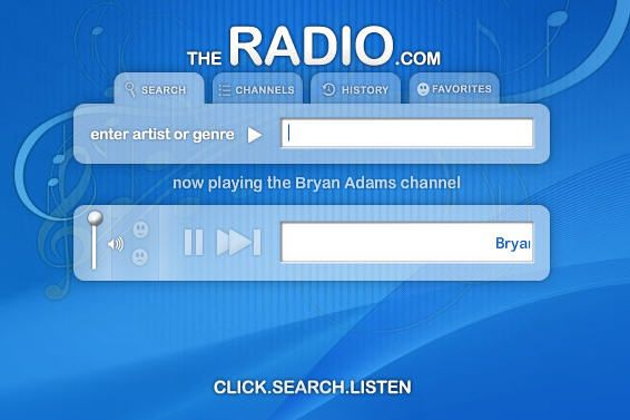 music radio on demand