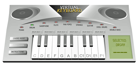 play virtual instruments online