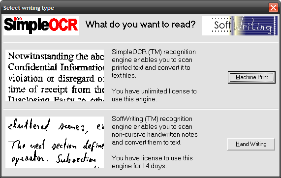 Free Ocr The Software Can Be Set Up To Read Directly From A Scanner Or By Adding Page Jpg Tiff Bmp Formats