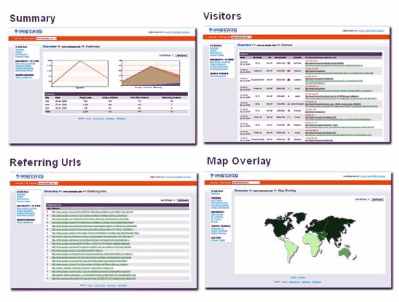 web statistics tracker