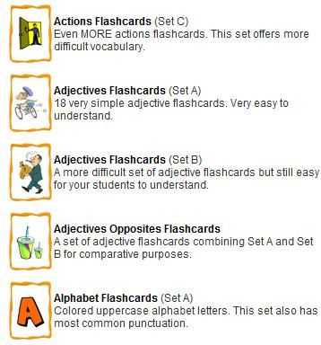 make flash cards