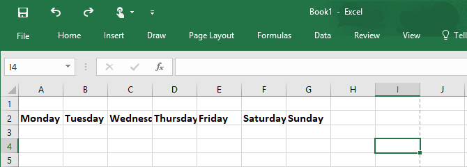 How to Make a Calendar Template in Excel Excel Calendar Template 1 670x240