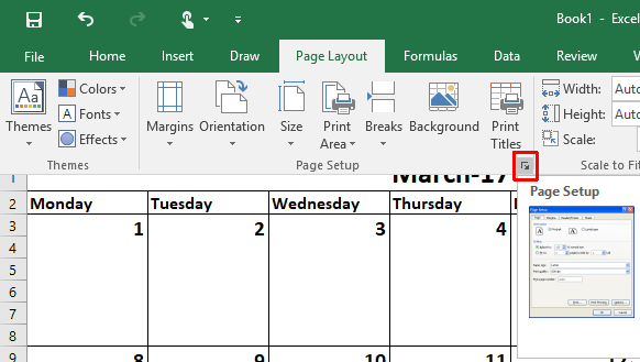 how to make a calendar template in excel