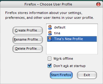 how to make firefox start in new windows automatically