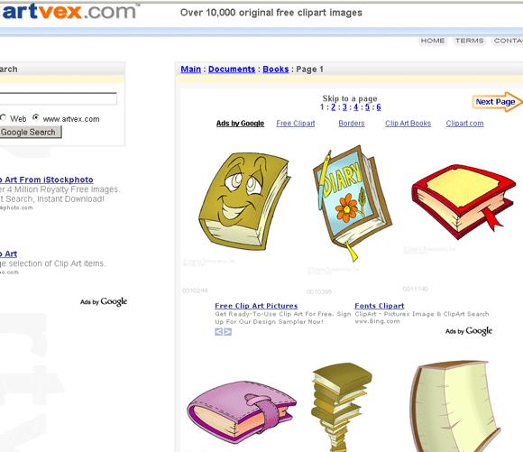 clip art database