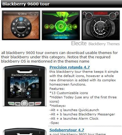 blackberry themes free download