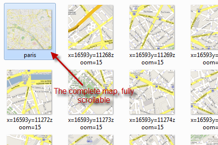 Take Google Maps Offline & Get Maps You Can Print using Google Maps Buddy completemap