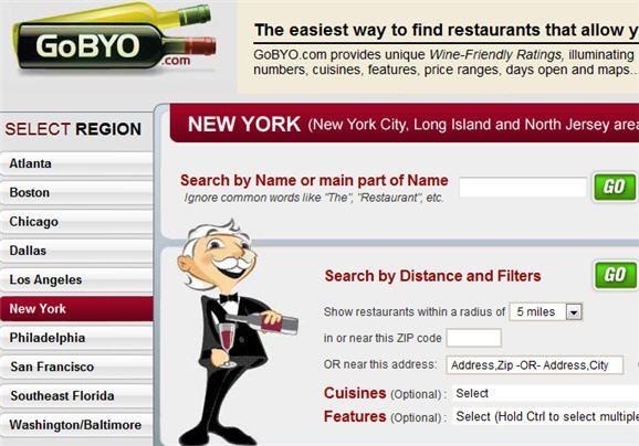 restaurants bring your own wine