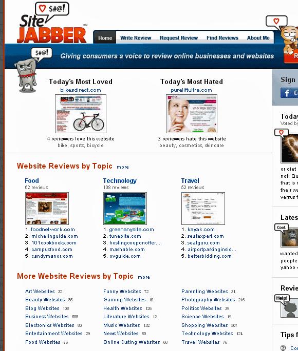 online retailer ratings