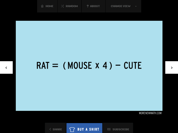 real life equations