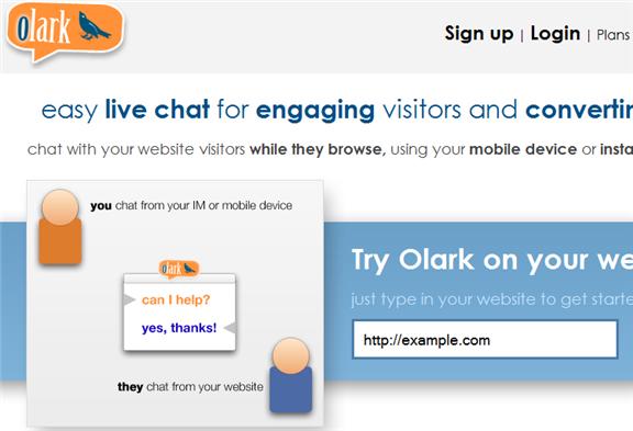 live chat widget