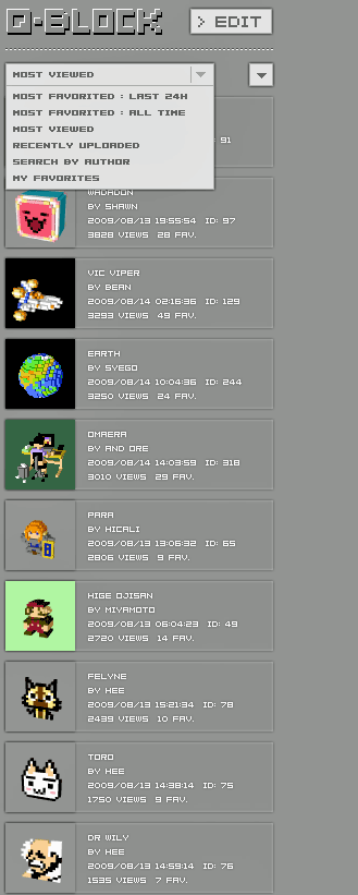 qblock1   Q Block: Free Pixel Art Creator