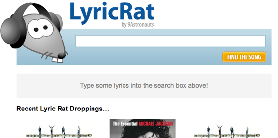 song search by lyrics