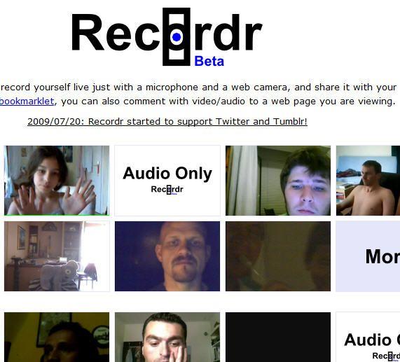 audio video recording
