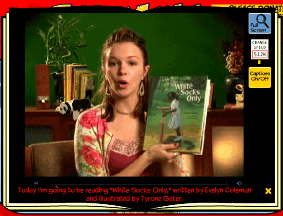 storylineonline1   StoryLineOnline: Videos of Childrens Books Read Online