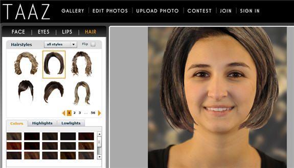 taaz2   Taaz: Upload A Photo & Create A Virtual Makeover