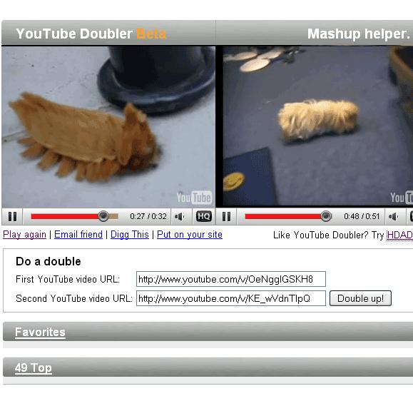 compare youtube