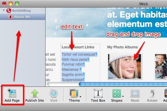iweb mac