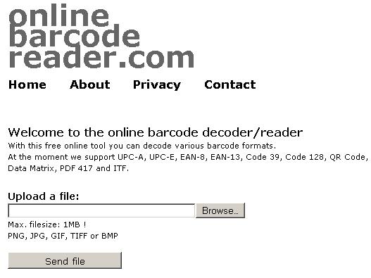 free online barcode decoder