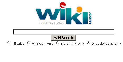 encyclopedia and wikipedia