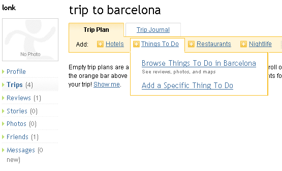 plan your trip online
