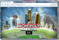 Play Monopoly Online with Other People using World Streets