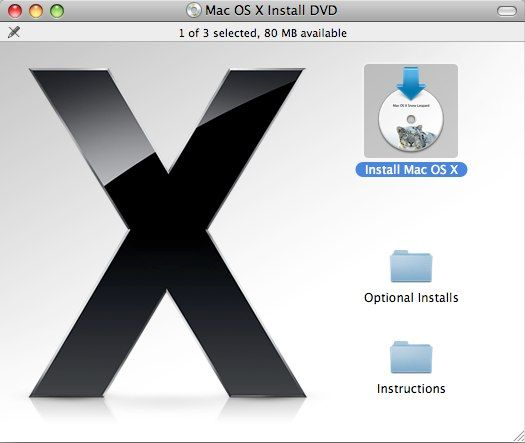 How to Upgrade to Snow Leopard & What You Should Know [Mac] SL install 1