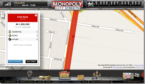 Play Monopoly Online with Other People using World Streets buyagain