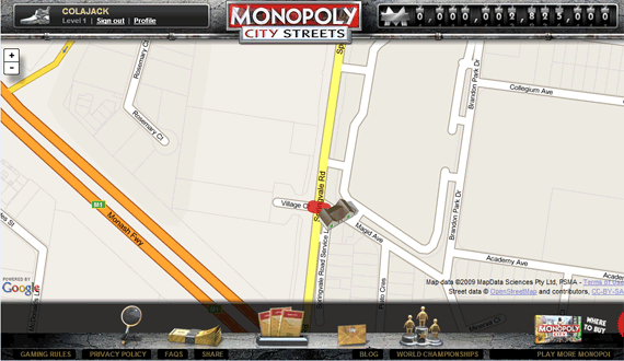 Play Monopoly Online with Other People using World Streets buynewstreets1