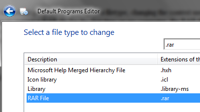 How To Set Default Programs, File Associations & Context Menus Easily changeicon