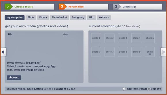 video clip creator