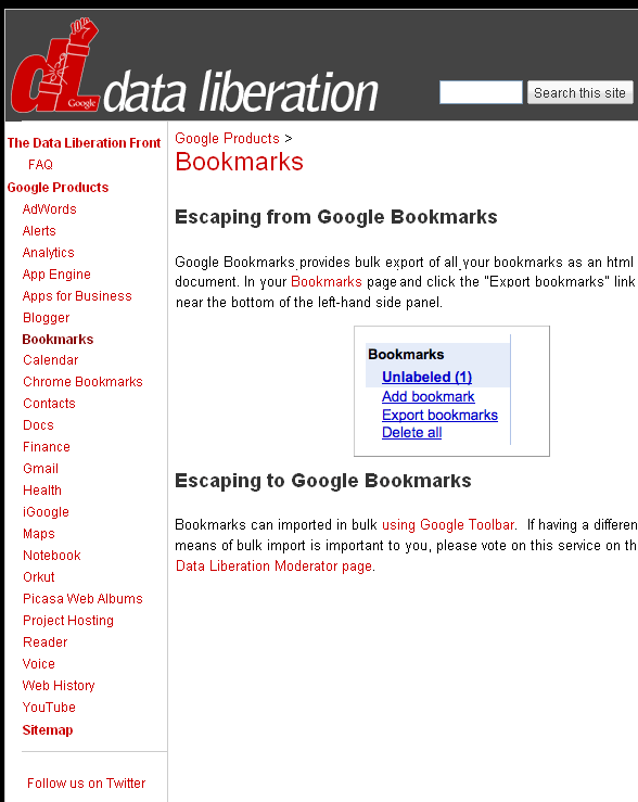 google data backup