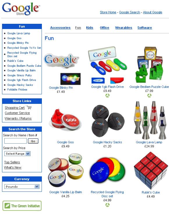 google accessories