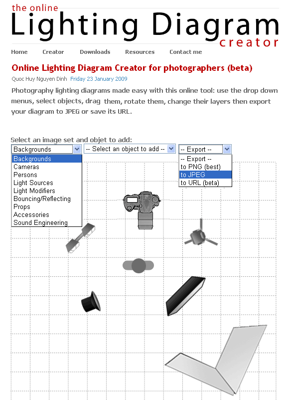photo studio lighting diagrams