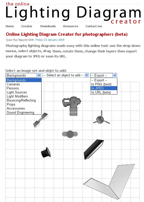 photo studio lighting diagrams